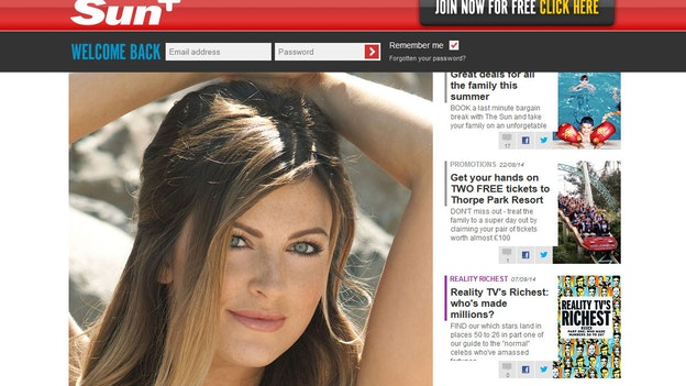 Er topløse piger på vej ud af tabloidavis? - TV 2